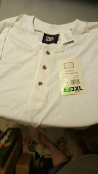 men's new shirts size 3X  Alma, 48801