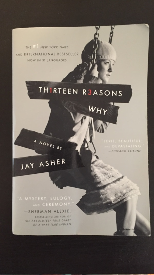 Used 13 Reasons Why Book For Sale In Vancouver Letgo