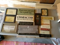 (1) Wooden Signs / Framed / Wall Hangings West Babylon