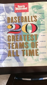 Baseball's 20 greatest teams of all time book Shelby Township, 48316