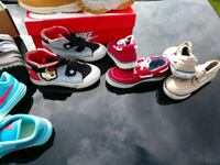 toddler's three pairs of shoes Sterling Heights, 48310