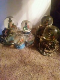 Six Light houses globes YES STILL AVAILABLE