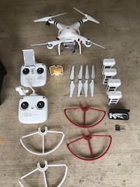White quadcopter with remote control Laurel, 20707