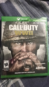 Xbox one Call of Duty WWII new in box never been opened Arvada, 80004