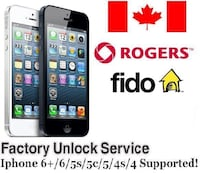 Unlock any Canadian Carrier for $15 Edmonton, T6W 2L6