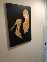 Shoes painting Los Angeles, 90038