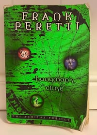 Hangman's Curse: The Veritas Project (Veritas Project, 1) by Frank Peretti Used Paperback Book Pasadena, 21122