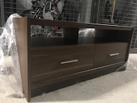 Walnut tv/ media storage unit  Toronto, M8Z 6C7