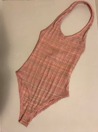 Pink striped bodysuit  Long Beach, 90813