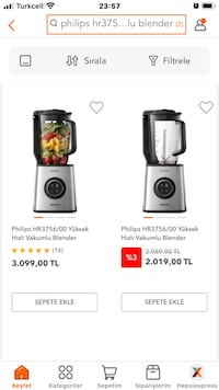 Philips Stay Fresh Vakum Teknoloji