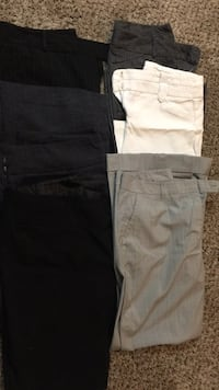 Lot of 6 pairs of women's dress pants. Various designers  Grove City, 43123