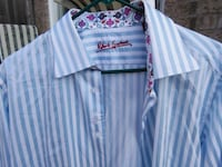 Robert Graham Shirt Size L Blue White Stripes Whitchurch-Stouffville, L4A 0J5