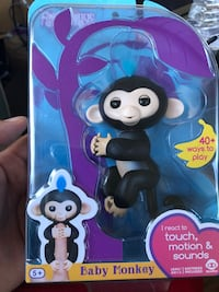 Fingerlings - Baby Black Monkey Chantilly, 20152