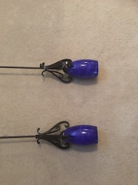 two blue and black fishing rods Stafford, 22554