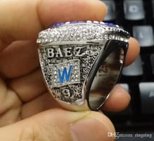 BAEZ - CUBS WORLD SERIES RING