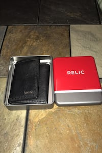 Trifold Leather Wallet (Relic)