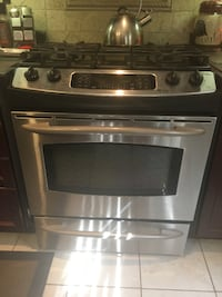 gray and black gas range oven RICHMONDHILL