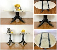 French Country Grain Sack Coffee Table and End Table Set Alexandria, 22310