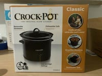 black Crock-Pot slow cooker box Silver Spring, 20907