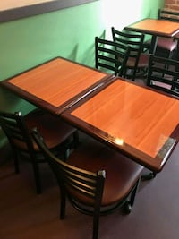 Restaurant Chairs and Tables Los Angeles, 91601