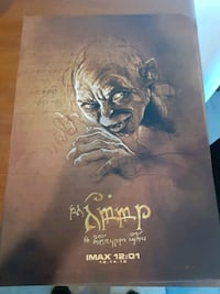 The Hobbit  Movie Poster Limited Ed.