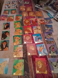 lion king trading cards  Columbus, 31906
