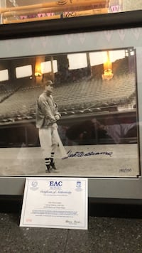 Ted Williams limited edition 16x20 signed. 140 of 150 Edgewater, 07020