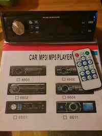 black car stereo mp3/mp5/sd/usb player with remote