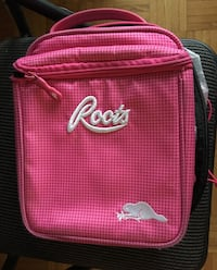 Pink roots lunch bag
