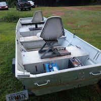 white and gray outboard boat Commerce, 30530