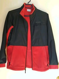 COLOMBIA black and red zip-up jacket  Montreal