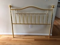 Brass Headboard, Full Alexandria
