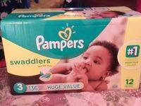 Brand New box of Pampers size 3