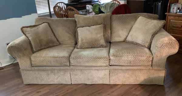 Awesome Ashley Sofa And Matching X Large Chair Spiritservingveterans Wood Chair Design Ideas Spiritservingveteransorg