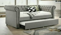 Ellie Gray Twin Daybed with Trundle    Houston