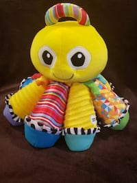 Lamaze Yellow Octotunes Baby Plush Toy