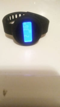 round black digital watch with black rubber bracelet Winchester, 22601