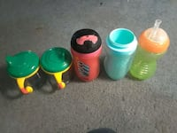 Five sippy cups Riverton, 62561