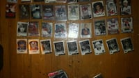 assorted baseball player trading cards London, N6K