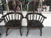2 antique Windsor arm chairs  Clearwater, 33761