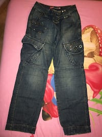jeans black-washed Massarosa, 55054