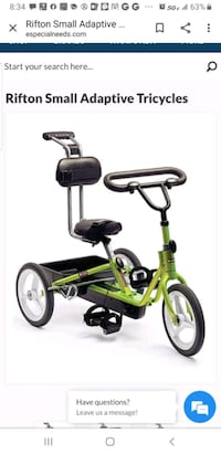 Orthopedic Tricycle Odenton, 21113