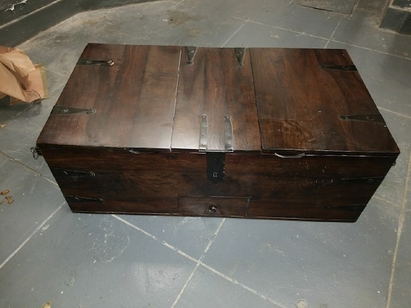 Pottery Barn Chest Coffee Table