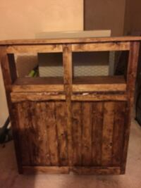 Cabinets made with rustic wood  Dunbar township, 15425