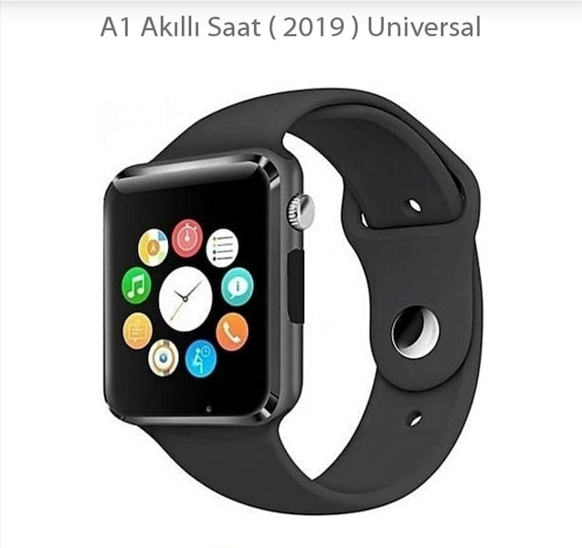 A1 Akıllı Saat - Smart Watch. 9e356703-6319-4045-a11f-ceed8f057b0d