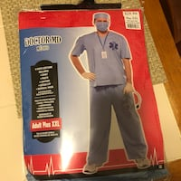 Adult Plus Size Doctor Halloween costume  Harpers Ferry, 25425