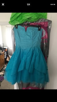 blue homecoming dress Westland, 48185