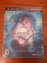 Final Fantasy X/X-2 HD Remaster Limited Edition - Playstation 3