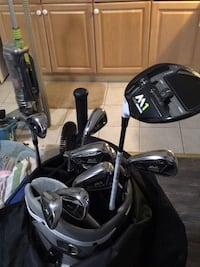 Golf clubs 2018 Taylor Made M1 driver left with M2 irons left hand Toronto, M3N 2M4
