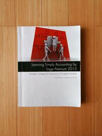 Learning Simply Accounting by Sage Accounting Guelph